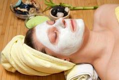 Beauty mask Stock Photography