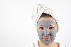 Beauty mask #19 royalty free stock photos