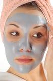 Beauty mask #19 stock photo