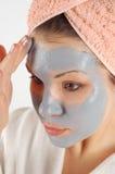 Beauty mask #19 royalty free stock image