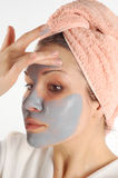 Beauty mask #19 Stock Images