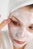 Beauty mask #19 Stock Photography