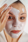 Beauty mask #21 Stock Images