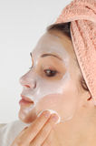 Beauty mask #21 Royalty Free Stock Photography