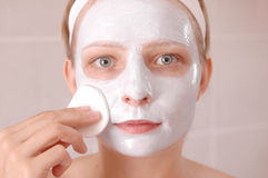 Beauty mask Royalty Free Stock Photo