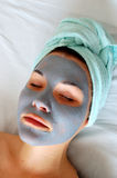 Beauty mask #3 Royalty Free Stock Images