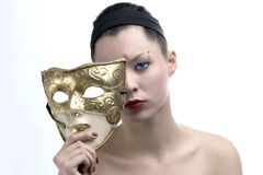 Beauty mask 3 Stock Image