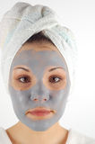 Beauty mask #33 Stock Photo