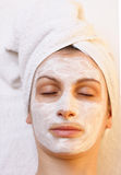Beauty mask stock image