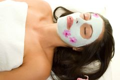 Beauty Mask royalty free stock image
