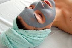 Beauty mask #6 Stock Photo