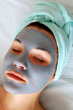 Beauty mask #9 Royalty Free Stock Images