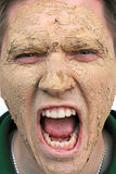 The beauty mask Stock Photo