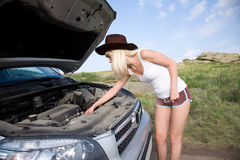 Beauty mechanic Stock Photo