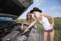 Beauty mechanic Stock Image
