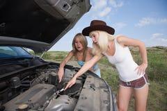 Beauty mechanic Stock Image