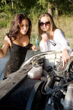Beauty mechanic Royalty Free Stock Photo