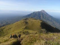 The Beauty of Merbabu Royalty Free Stock Photography