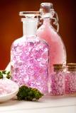 beauty minerals spa επεξεργασία Στοκ Φωτογραφία