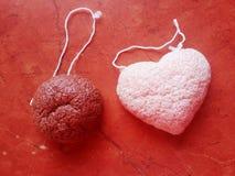 Beauty mini sponges . Royalty Free Stock Image