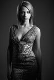Beauty model girl in studio Royalty Free Stock Image