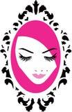 Beauty modern logo Royalty Free Stock Photography
