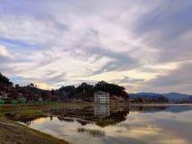 Beauty Of Mogok Ruby Land In myanmar stock photo