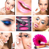 Beauty Montage Royalty Free Stock Photos