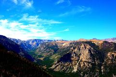Beauty of montana state absaroka range mountains Stock Photos