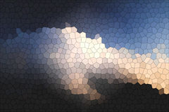 Beauty of mosaic sky background Royalty Free Stock Images