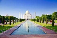Magical Taj Mahal. Beauty of Mughal empire in Stock Photo