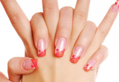 Beauty Nails Stock Images