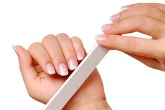 Beauty of nails Royalty Free Stock Photo