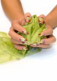 Beauty nails Stock Photos