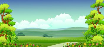 Beauty nature background Royalty Free Stock Images