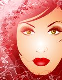 Beauty of Nature Female Face 2 Royalty Free Stock Photos