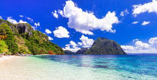 Beauty in nature - impressive tropical islands, Philippines Stock Image
