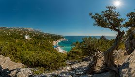Beauty nature landscape Crimea Royalty Free Stock Image