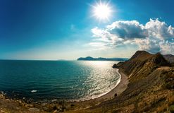 Beauty nature landscape Crimea Stock Photos