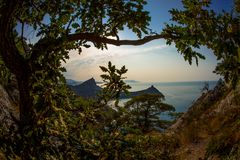 Beauty nature landscape Crimea Royalty Free Stock Photography