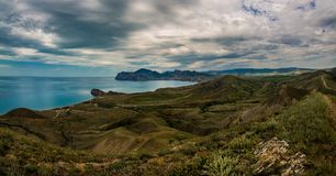 Beauty nature landscape Crimea Royalty Free Stock Image