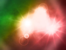 Beauty nebula Stock Images