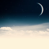 Beauty nigh. Royalty Free Stock Images