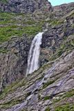 Beauty of Norwegian waterfalls Royalty Free Stock Photography