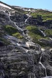 Beauty of Norwegian waterfalls Stock Photo