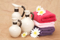 Beauty objects Stock Images