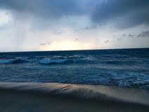 Beauty of ocean Stock Photography