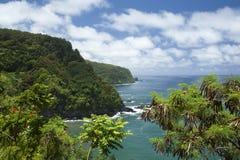 Free Beauty Of Maui Coastline Follows Road To Hana Stock Photos - 111138273