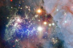 Beauty of outer space. Science fiction wallpaper. Elements of this image furnished by NASA royalty free stock image