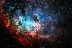 Beauty of outer space. Science fiction wallpaper. Elements of this image furnished by NASA stock photos